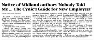 CTN Article - May 17, 2013